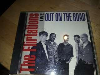 The Flirtations Live Out On The Road cd