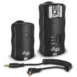 Altura Photo Wireless Flash Trigger and remote shutter for Canon