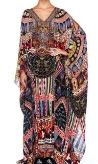 Camilla Franks 'Dancing on my own' split front split sleeve kaftan NEW