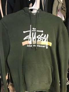 Stussy M Green Sweater