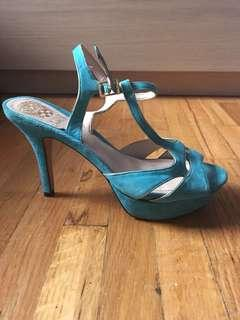 Vince Camuto women's heels teal colour size 7.5