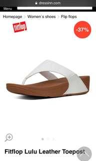 White Fitflops