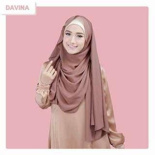 ❤Davina Shawl Hijab Tudung❤
