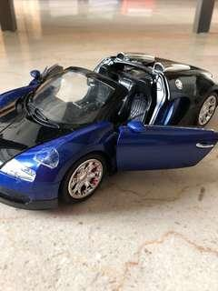 Metal tint sports car collectibles. Further reduced to clear
