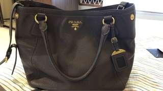Authentic Prada Vitello Daino