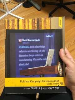 Political Campaign Communication (Inside and Out)