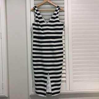 Sportsgirl striped dress Sz14