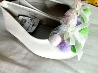 Sugar shoes white