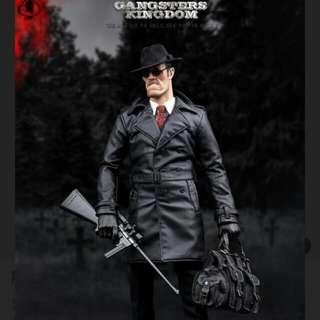 1/6 scale black hat fedora from damtoys