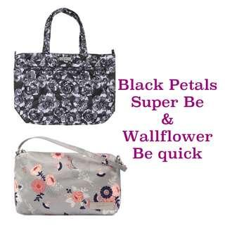 Ju-Ju-Be Onyx Black Petals Super Be & Wallflower Be Quick