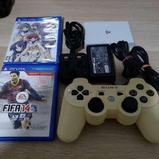 PS Vita TV (v3.68) w/ FIFA 14 & Clannad