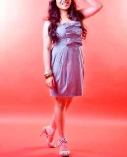 Forever 21 Short Ribbon Dress