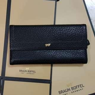 Dompet braun buffel black preloved original