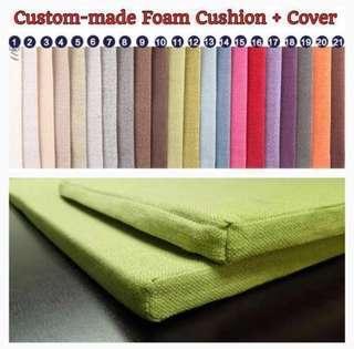✂️ Custom-made Foam + Cover for Bay window