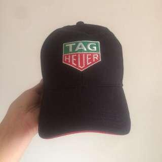 AUTHENTIC TAG HEUER cotton baseball cap