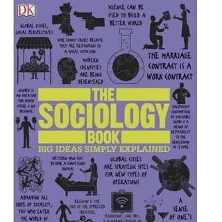( eBook ) The Sociology Book Big Ideas Simply Explained