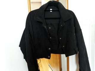 Cord crop jacket