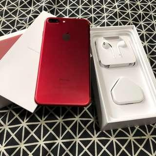 Apple iPhone 7 Plus in Red 256GB in Original Pack!