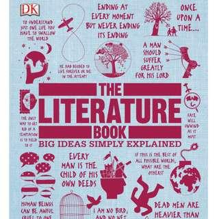 ( eBook ) The Literature Book Big Ideas Simply Explained