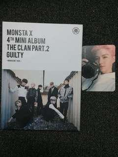 MONSTA X GUILTY ALBUM