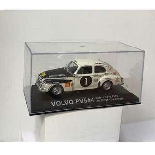 Volvo PV544 1/43 diecast model (safari rally version)