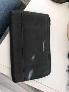 Tiffany & Co leather pouch