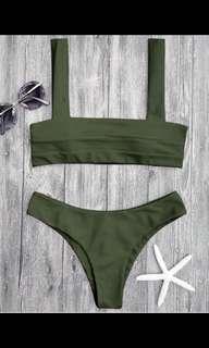 Green Bikini ZAFUL