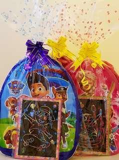 Cartoon Backpack, cartoon goodie bag, goody bag, children's Day, birthday packs,Xmas, Christmas