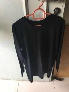 INSTOCKS Black Long Sleeve Top