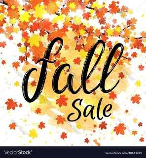 BOGO FALL SALE