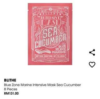 Blithe Intensive Mask Sea Cucumber (1piece)