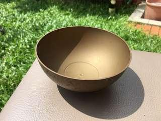 Egypt brass antique collectible bowl hand-carved