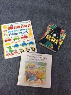 3 kids books