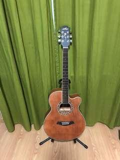 Brand new electric acoustic guitar