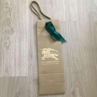 Burberry cylinder long bag