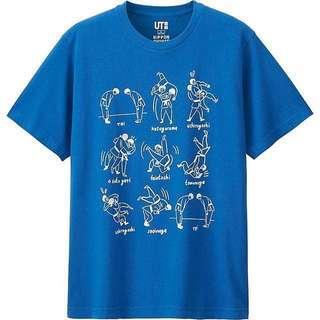 Uniqlo Tshirt Japan Limited Edition #3x100