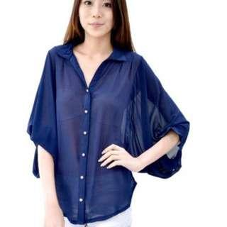 Golden Wing Top (Navy) #Take10off
