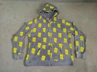 BART SIMPSONS Hoodie Jacket