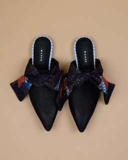 Mader Mules Ribbon Black Phoenix Stripes