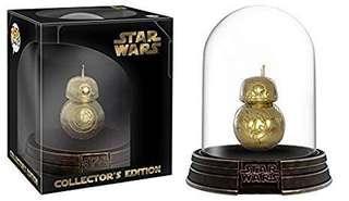 Funko Pop! Star Wars Deluxe BB-8 Gold Chrome Acrylic Dome Exclusive Vinyl Figure