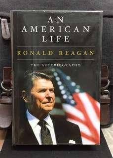 #3×100《Preloved Hardcover + Memoir & Autobiography Of Ronald Reagan》An American Life : The Autobiography