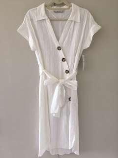 FREE SHIPPING BNWT ZARA buttoned dress