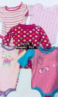 Baby Rompers (Each rm15)
