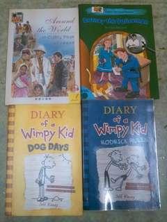 Children's Books,Diary books, Story book 英文故事書<清屋大平賣>