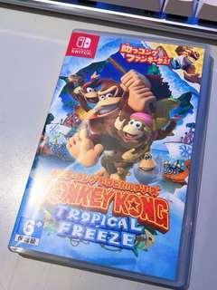 Nintendo switch game ns Donkey Kong Tropical Freeze
