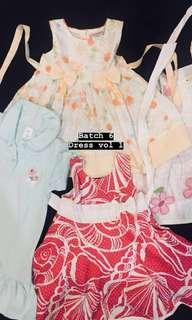 Baby Dress (buy 4 for rm15)