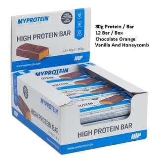 Protein Bar Myprotein [ Listed : Sept 2018 ]