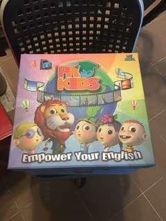 Disney dr max pro kids English set total 4