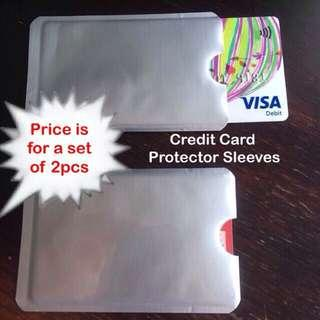 Credit card protector / protection sleeve (RFID anti-scan [anti-theft]) [uncle anthony]