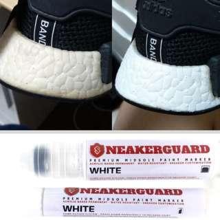 🚚 SNEAKERGUARD BOOST MIDSOLE PEN MARKER WHITE